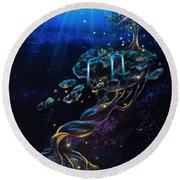 Sandman Round Beach Towel