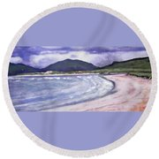 Sands, Harris Round Beach Towel by Richard James Digance