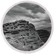 Sandstone Butte Round Beach Towel