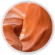Sandstone Swirls  Round Beach Towel