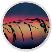 Sanibel Sea Oats Round Beach Towel