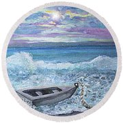 Saquish Irish Rover Round Beach Towel