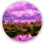 Round Beach Towel featuring the photograph Sarasota Symphony 2 by Madeline Ellis