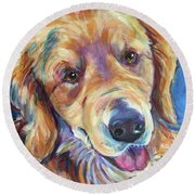 Sarge Round Beach Towel