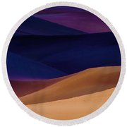 Saturation Round Beach Towel