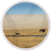 Savanna Life Round Beach Towel