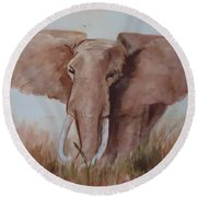Savannah Queen  Round Beach Towel