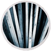 Sawtooth Round Beach Towel