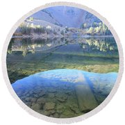 Round Beach Towel featuring the photograph Say Hello To Virginia by Sean Sarsfield