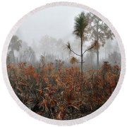 Scapes 2 13b Round Beach Towel