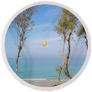 Scapes Of Our Lives #11 Round Beach Towel
