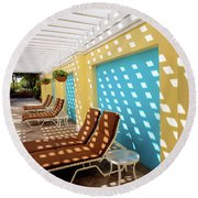Scapes Of Our Lives #13 Round Beach Towel