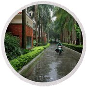 Scapes Of Our Lives #18 Round Beach Towel
