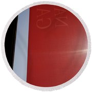 Scapes Of Our Lives #23 Round Beach Towel