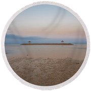 Scapes Of Our Lives #31 Round Beach Towel