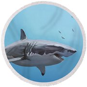 Scarlett Billows Deux Round Beach Towel