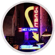 Scat Jazz 11217 Round Beach Towel