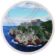 Game Of Thrones Fort St Lawrence Round Beach Towel