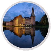 Schloss Raesfeld Round Beach Towel