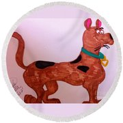 Scooby-doo Round Beach Towel