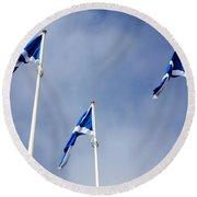 Scotland Round Beach Towel