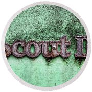 Scout II Round Beach Towel