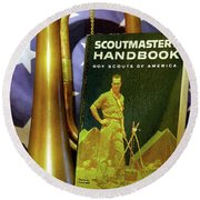 Scoutmaster Round Beach Towel