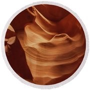 Sculpted By Time Round Beach Towel