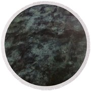 Sculpture And Sky Round Beach Towel