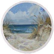 Sea Beach 7 - Baltic Round Beach Towel