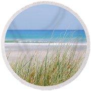Sea Breeze Round Beach Towel