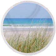 Sea Breeze Round Beach Towel