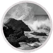 Sea Crush Round Beach Towel