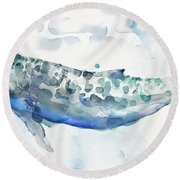 Sea Giant Round Beach Towel