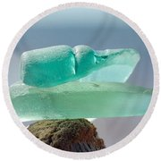 Sea Glass Seven Round Beach Towel