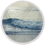 Sea Of Possibilities Round Beach Towel