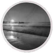 Sea Smoke Round Beach Towel