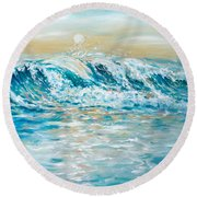 Sea Spray Round Beach Towel