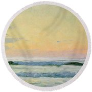 Sea Study Round Beach Towel