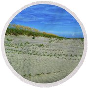 Sea Swept Round Beach Towel