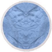 Seabed Round Beach Towel