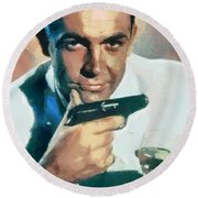 Sean Connery Collection - 1 Round Beach Towel