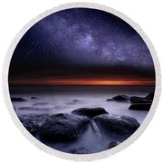 Search Of Meaning Round Beach Towel by Jorge Maia