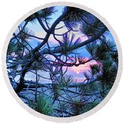 Searching For Fine Pearls Round Beach Towel