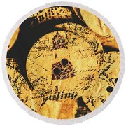 Seaside Attachment Round Beach Towel