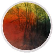 Seasons Change Round Beach Towel