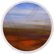 Seasons Changing Round Beach Towel