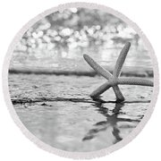 Seastar Seafoam Round Beach Towel