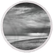 Secluded Round Beach Towel