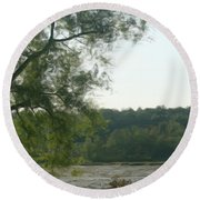 Secluded Marsh Round Beach Towel